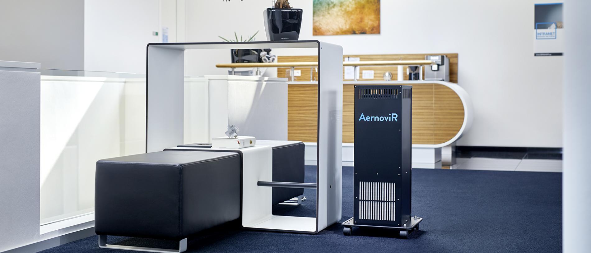 Einsatzbereiche für den Plasma-Luftreiniger   AernoviR
